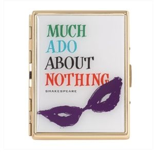 NWT Kate Spade Much Ado About Nothing Card Holder